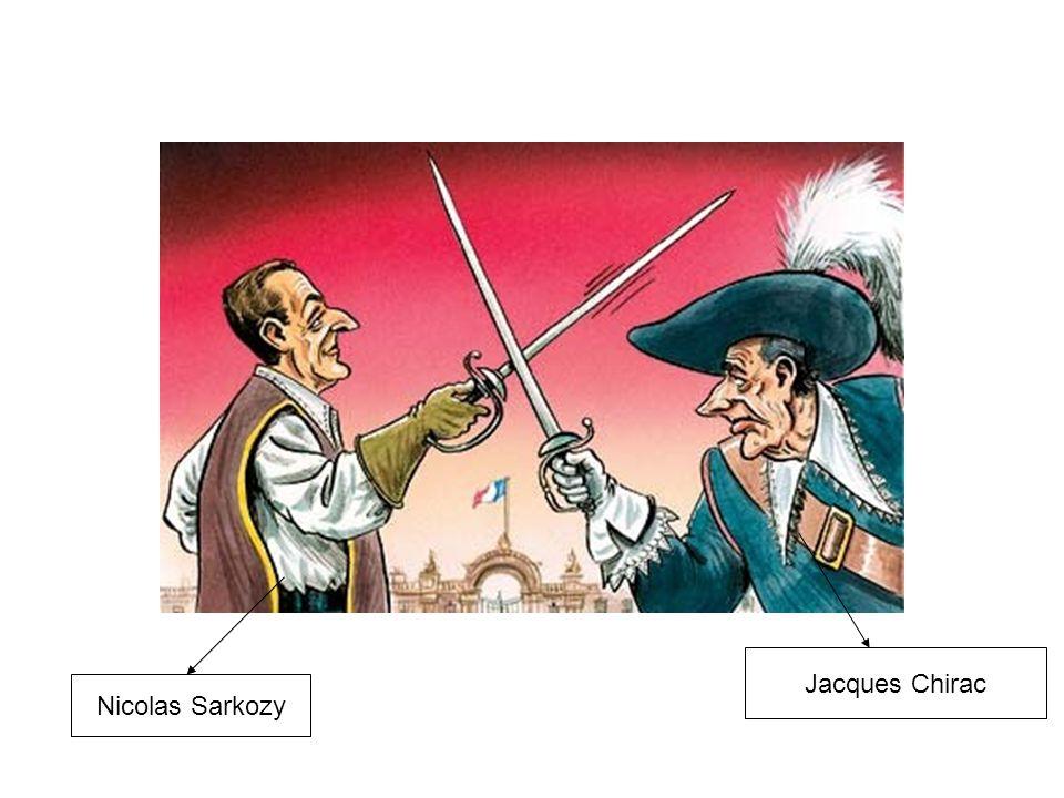 Nicolas Sarkozy Jacques Chirac