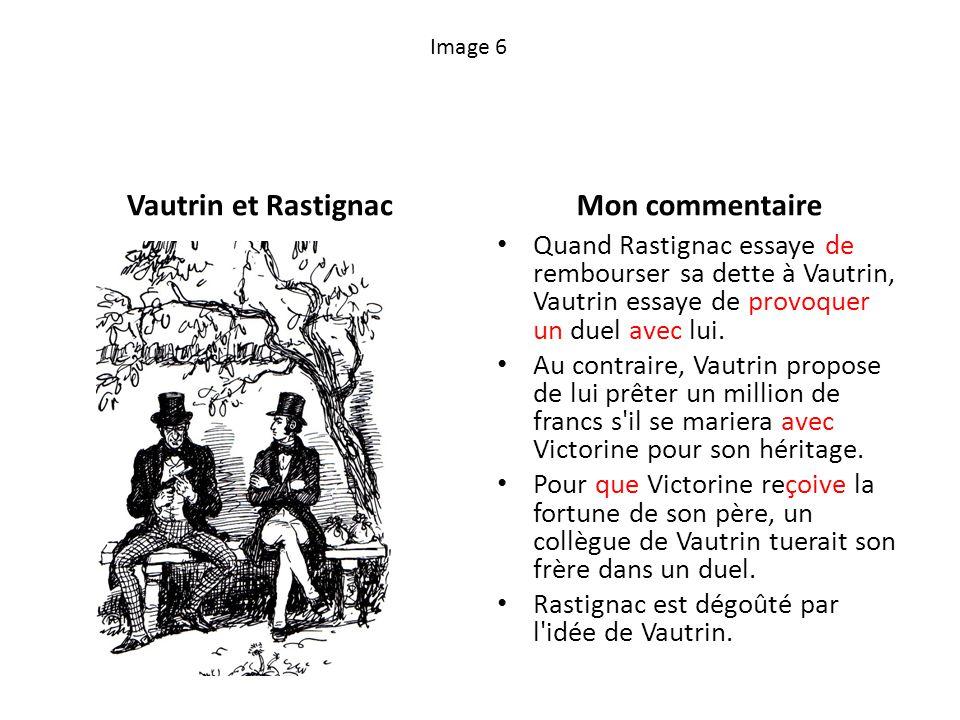 Image 7 Rastignac et la vicomtesse aux Italiens Mon commentaire Mme de Beauséant veut aller aux Italiens, mais elle na personne avec qui elle peut y aller.