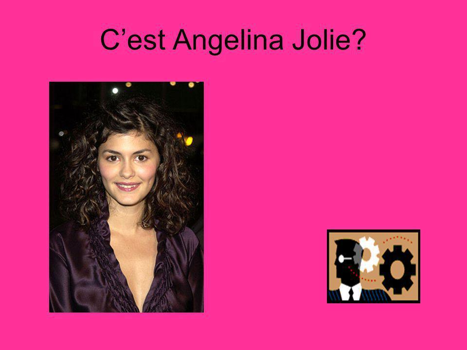 Cest Angelina Jolie?