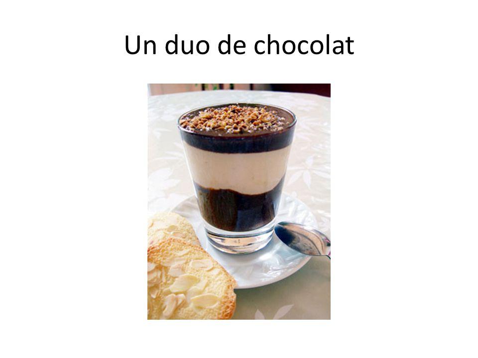 Un duo de chocolat