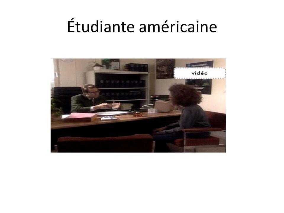 Étudiante américaine