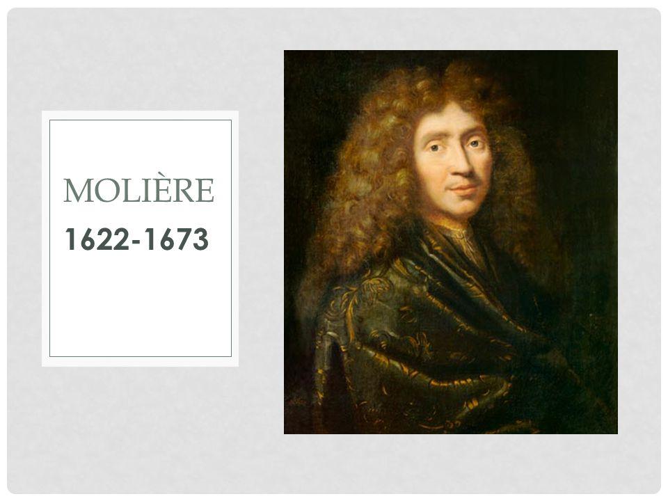 1622-1673 MOLIÈRE