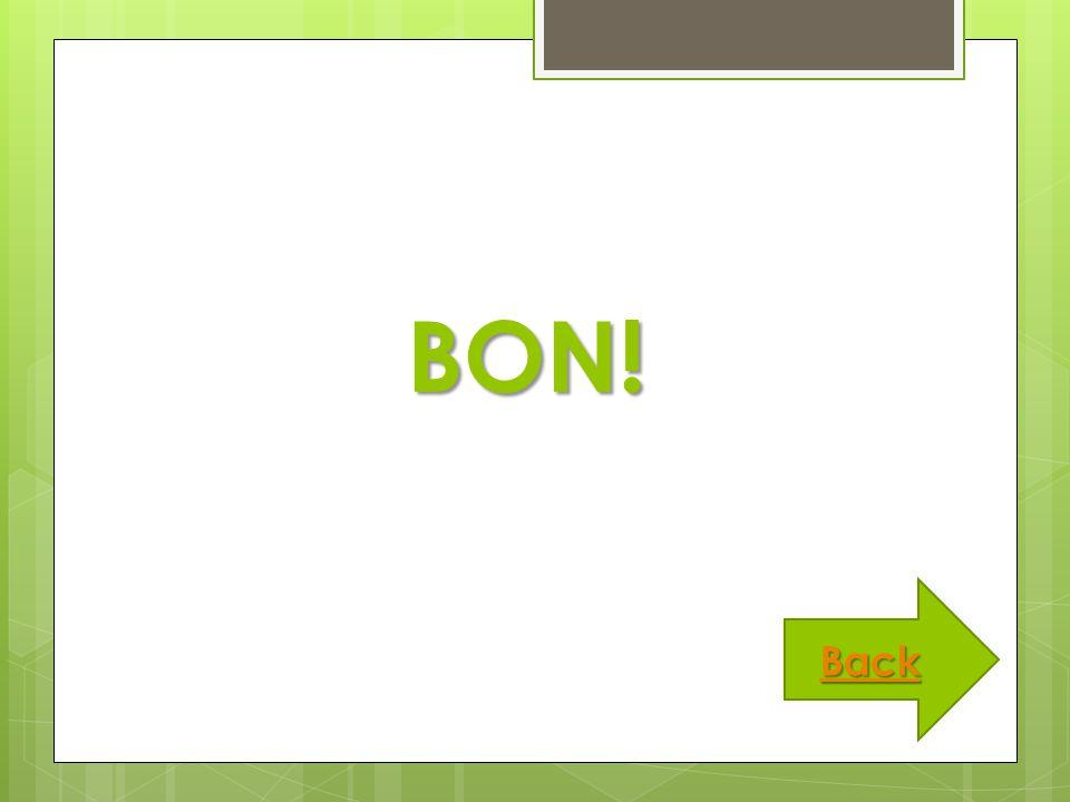 BON! Back