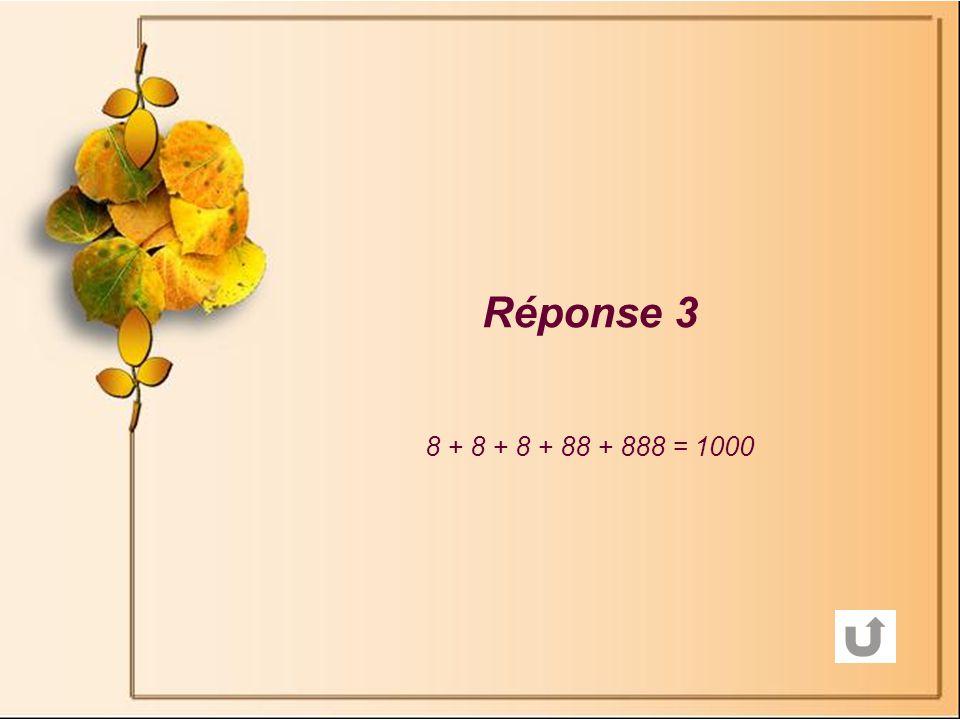 Réponse 2 Première pesée : 3 lingots sur le plateau de la balance et 3 sur lautre plateau.