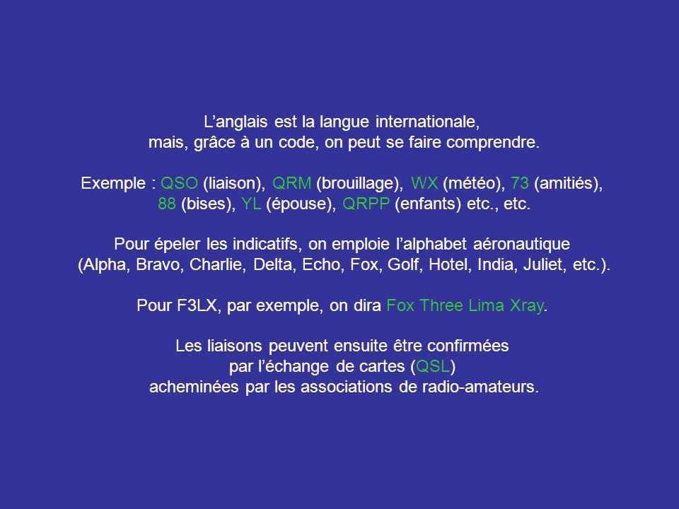 Arrivé en France en 1962, lAdministration des Télécommunications modifie mon indicatif FA3LX en F3LX Mon épouse ayant subi avec succès lexamen de radio-amateur devient second opérateur de la station