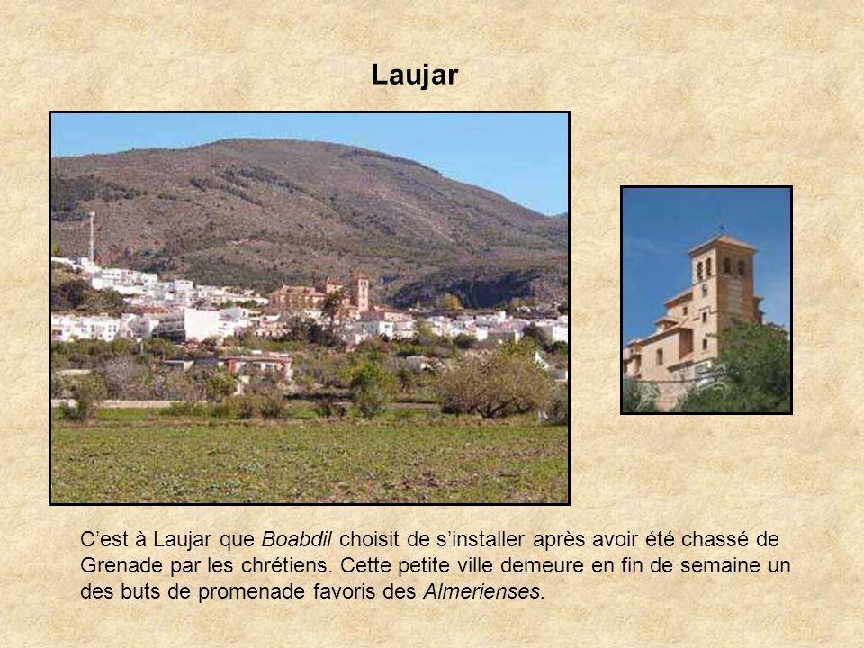 La vallée de lAndarax Cest une oasis plantée dorangers, de citronniers et de vignobles. On y cultive le fameux raisin vert dOhanes exporté dans le mon