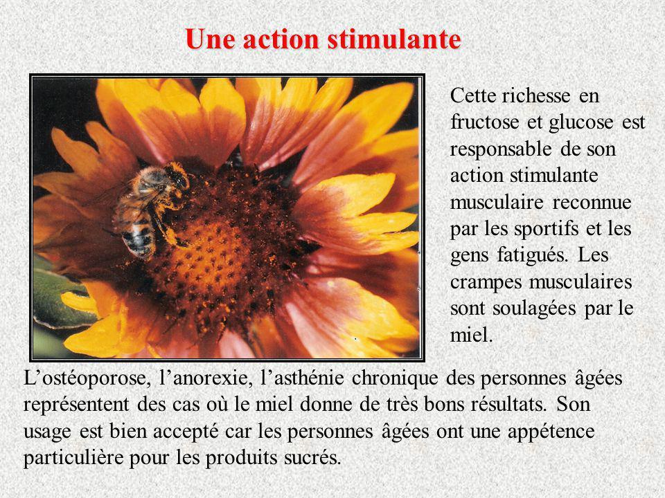 Un riche pouvoirsucrant Un riche pouvoir sucrant Le miel est avant tout un aliment naturel, riche en sucres simples directement assimilables, doué dun