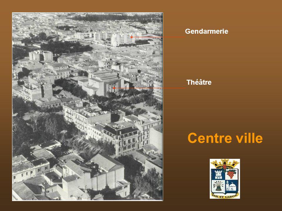 Centre ville Gendarmerie Théâtre