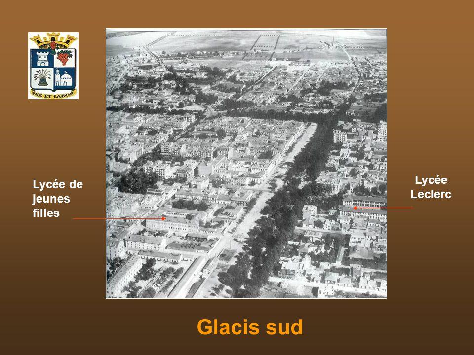 Glacis sud Lycée Leclerc Lycée de jeunes filles