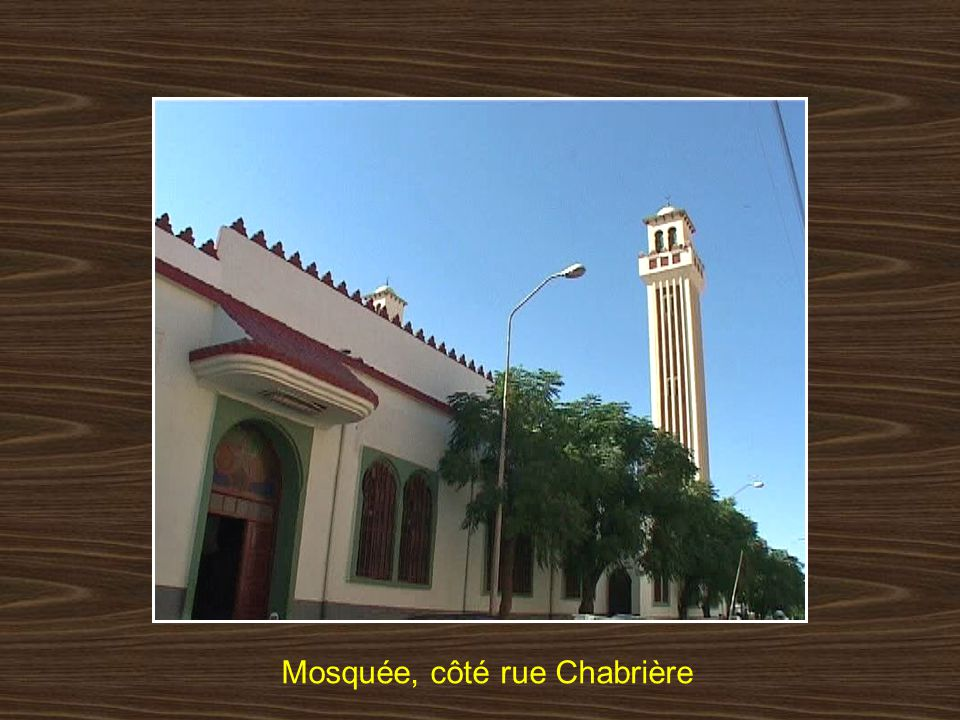 Entrée de la mosquée