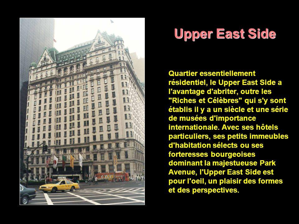 Upper West Side Sans doute le plus complexe mais aussi l un des plus intéressants quartiers de New York, l Upper West Side est un monde à part avec ses fans qui pour rien au monde ne voudraient vivre ailleurs.