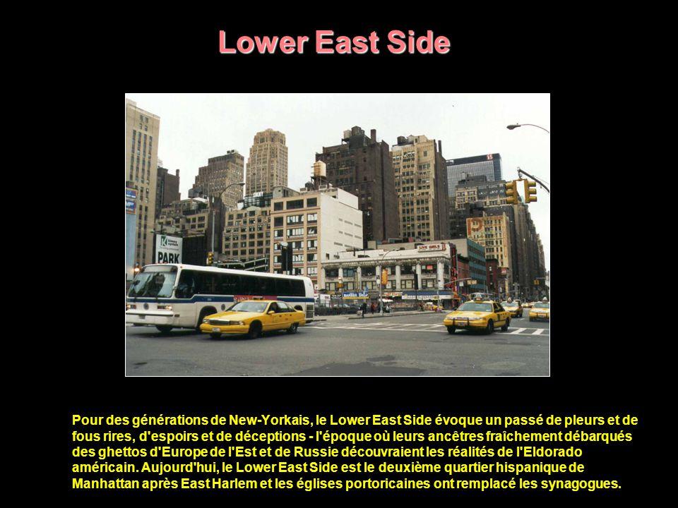 Upper East Side Quartier essentiellement résidentiel, le Upper East Side a l'avantage d'abriter, outre les