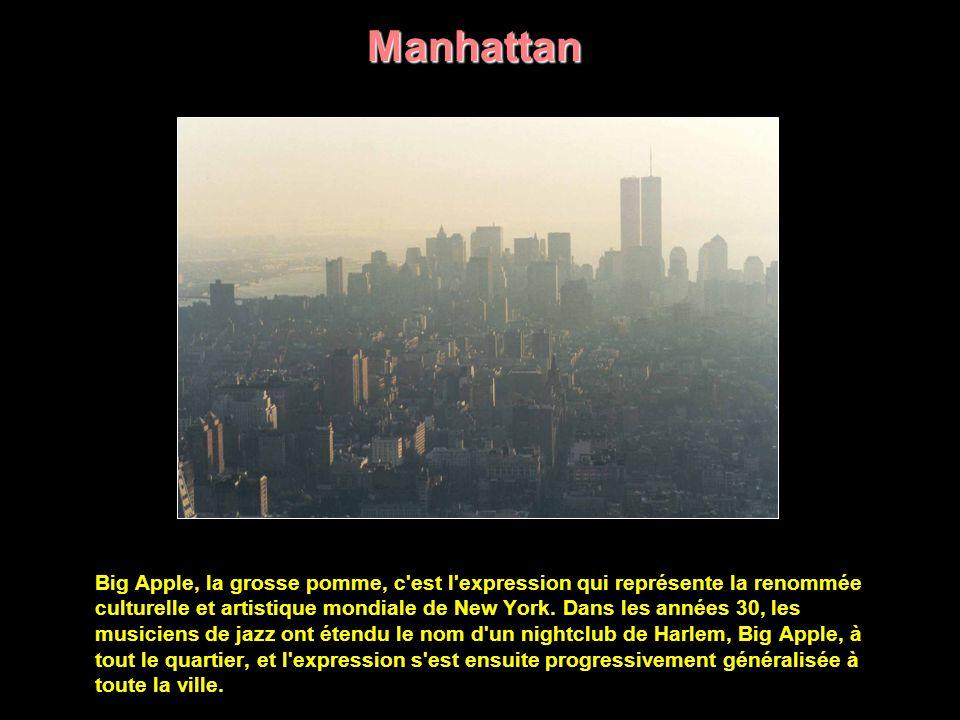 New York est composée de cinq boroughs (districts) mais souvent le nom New York désigne très précisément Manhattan, que les New-Yorkais eux- mêmes nomment la City par opposition aux boroughs Brooklyn, Bronx, et Queens, lesquels constituent avec Staten Island le grand New York.