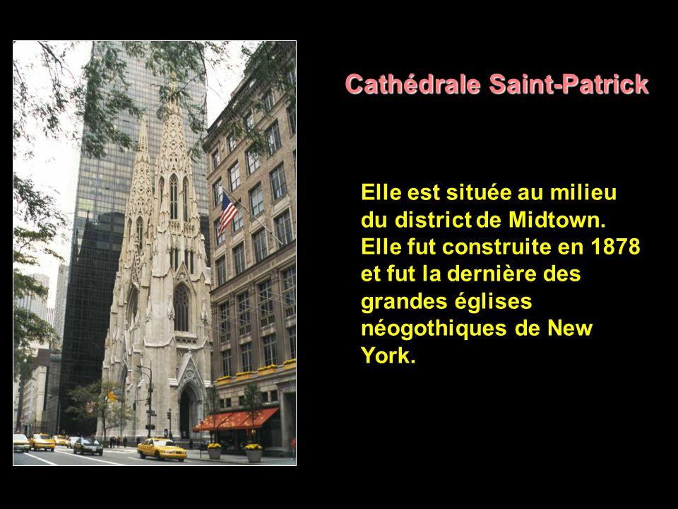 Midtown Ses grandes avenues traçant de gigantesques couloirs de gratte-ciel jusqu à l infini de la ville, Midtown est la démesure réalisée de Manhattan.