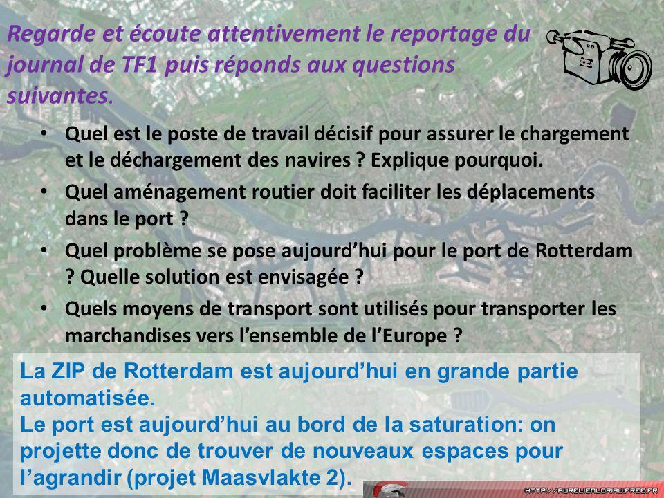 Regarde et écoute attentivement le reportage du journal de TF1 puis réponds aux questions suivantes.