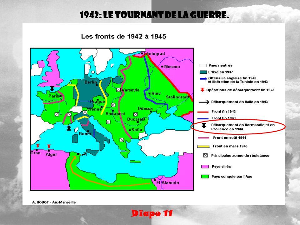 1942: le tournant de la guerre. Diapo 11