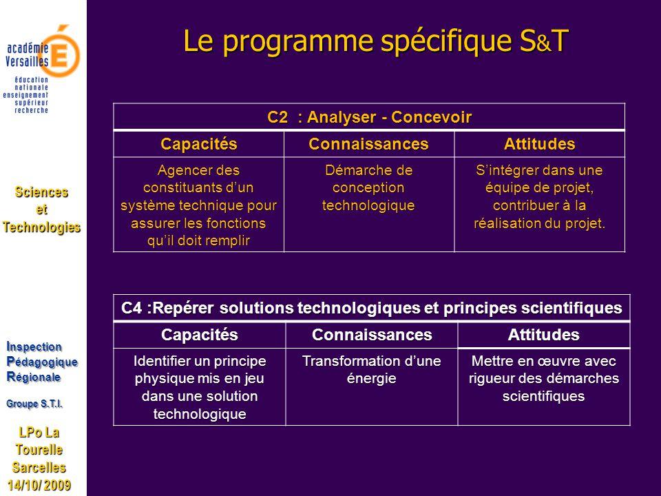 LPo La Tourelle Sarcelles 14/10/ 2009 I nspection P édagogique R égionale Groupe S.T.I.