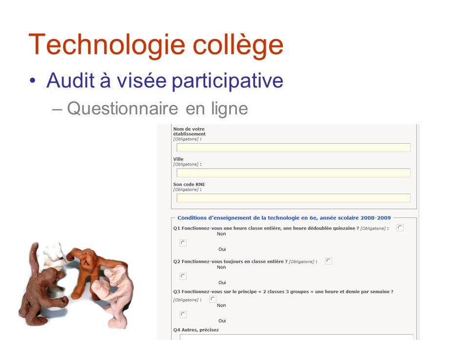 Technologie collège Constitution dun réseau
