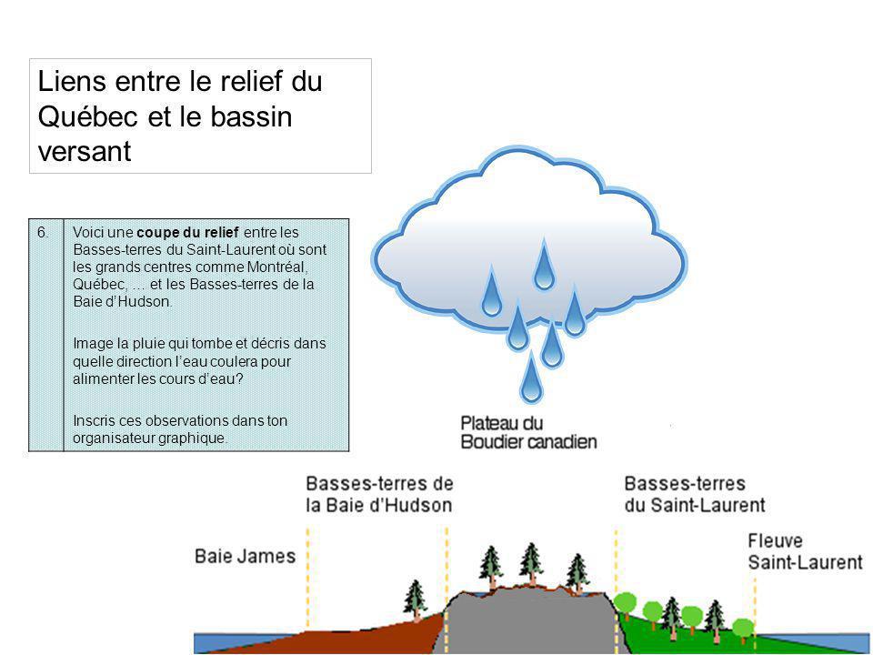 Végétation du Québec 7.Décris la végétation du Québec près de la rivière La Grande où se trouvent plusieurs barrages hydroélectriques.