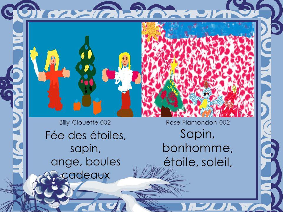 Sapin, étoile, boules de neige, canne, bonhomme de neige Sapin, boules, étoiles Stanya Bouzi 002 Safia Aziez 001
