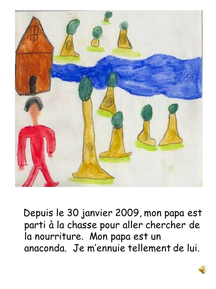 Papa est un anaconda Julie et compagnie Classe de 2 e année Écrit et illustré par Simon Perreault