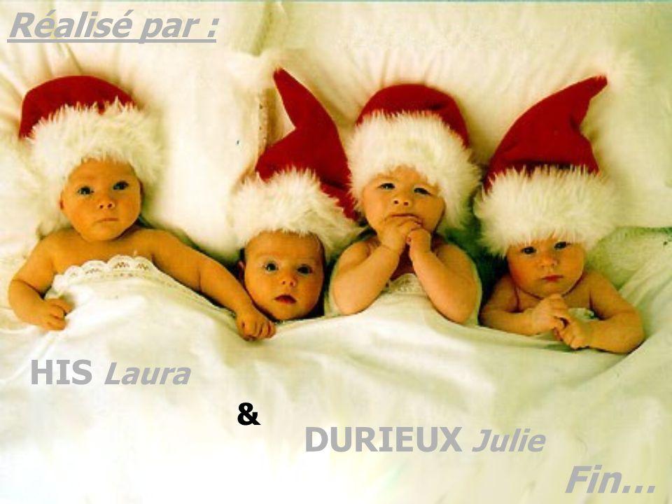 Fin… Réalisé par : HIS Laura DURIEUX Julie &