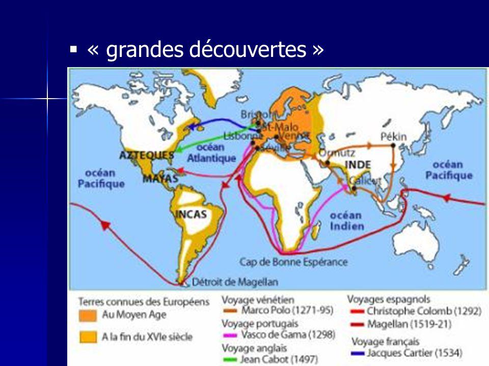 « grandes découvertes »