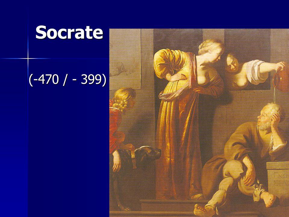 Socrate (-470 / - 399) (-470 / - 399)