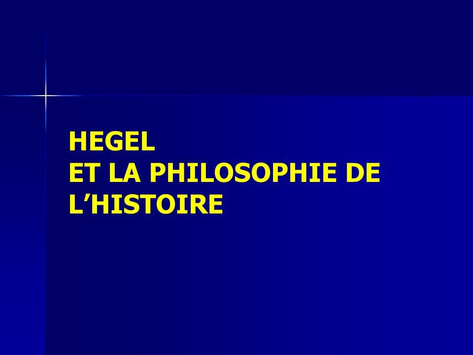 Hegel et la philosophie de lhistoire 1.Ordre impérial : conquérir la totalité de son aire géographique limites 2.Ordre marchand : maximiser les profits de sa classe marchande nationale centres / périphéries / surnuméraires