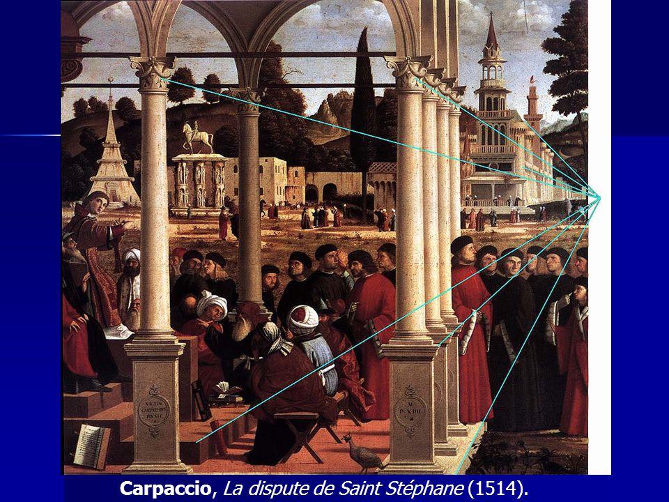 . Carpaccio, La dispute de Saint Stéphane (1514).