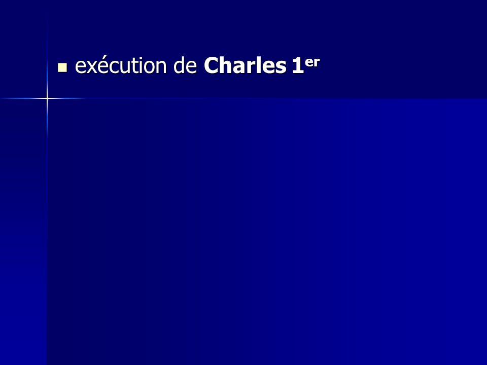 exécution de Charles 1 er exécution de Charles 1 er