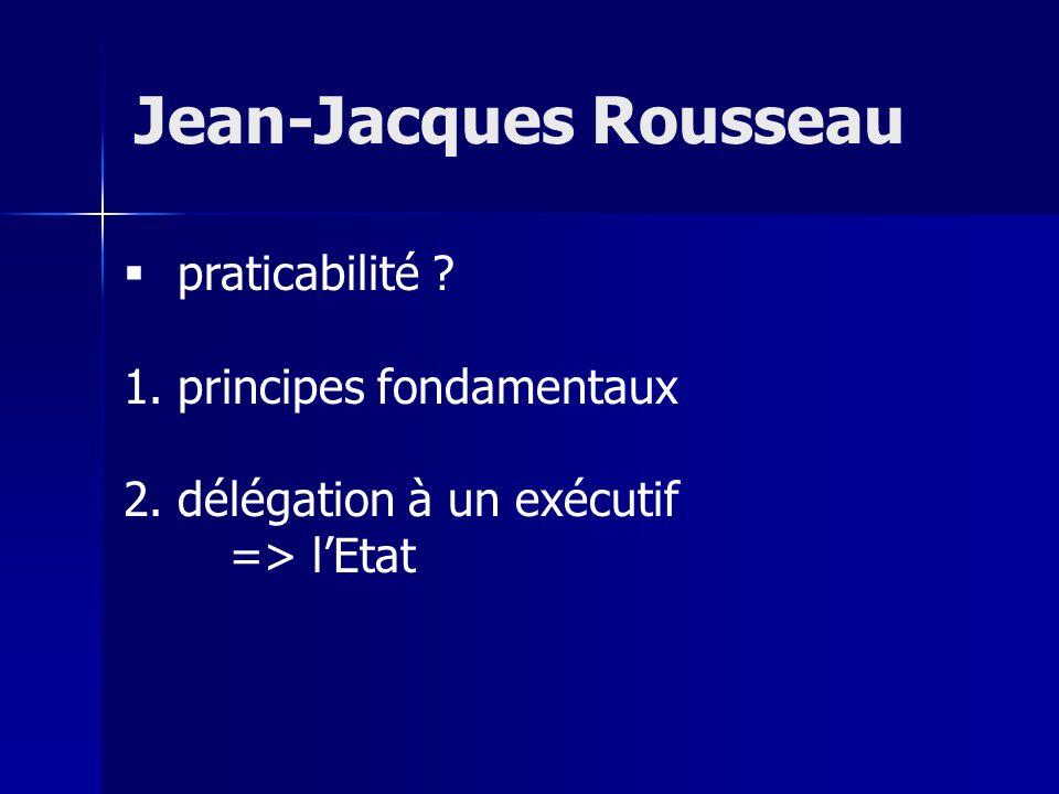 praticabilité .1. principes fondamentaux 2.
