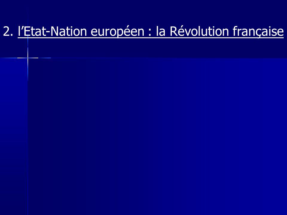 Chapitre 6 Marx Etat-Nation : 1.territoire homogène 2.