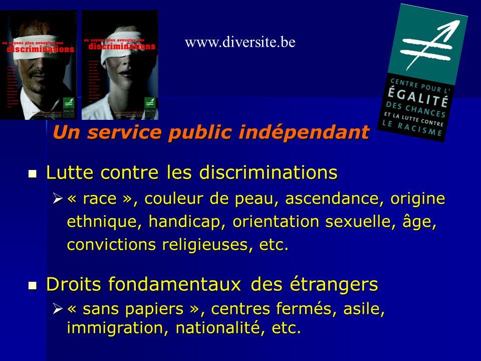 Lutte contre les discriminations Lutte contre les discriminations « race », couleur de peau, ascendance, origine ethnique, handicap, orientation sexue