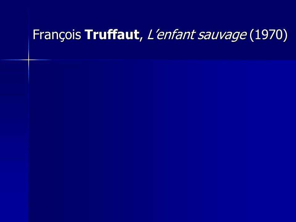 François Truffaut, Lenfant sauvage (1970)
