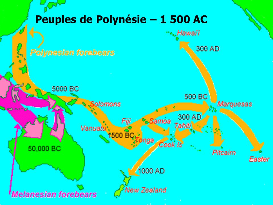 Sociétés et civilisations Dogons Polynésie Peuples de Polynésie – 1 500 AC