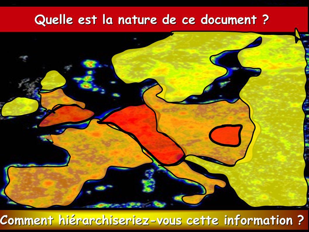 Quelle est la nature de ce document .Quelle information peut-on en extraire .