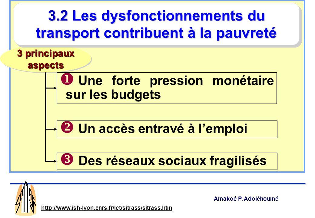 Amakoé P. Adoléhoumé http://www.ish-lyon.cnrs.fr/let/sitrass/sitrass.htm Le modèle dominant de la vie au quartier : le village dans la ville ? La vill