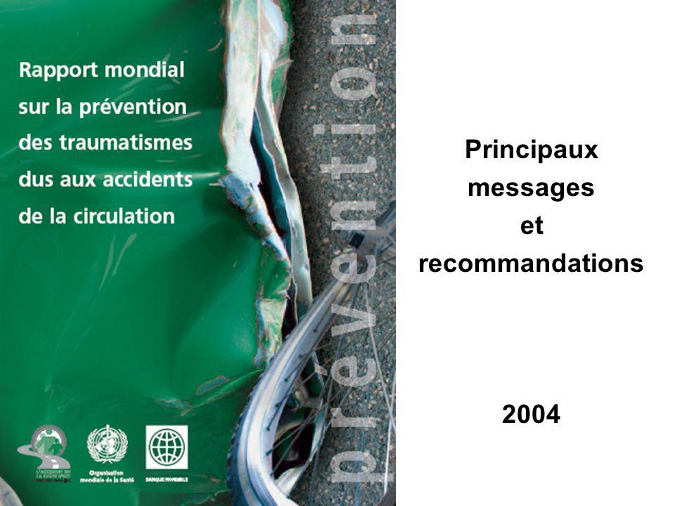 Principaux messages et recommandations 2004