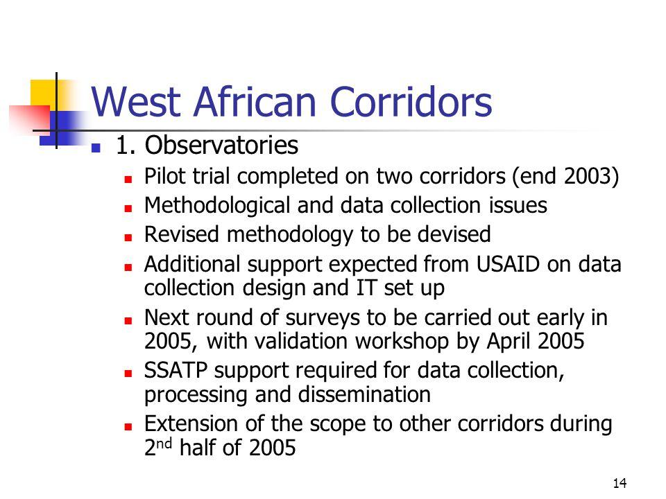 14 West African Corridors 1.