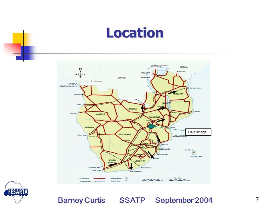 8 Location Barney Curtis SSATP September 2004