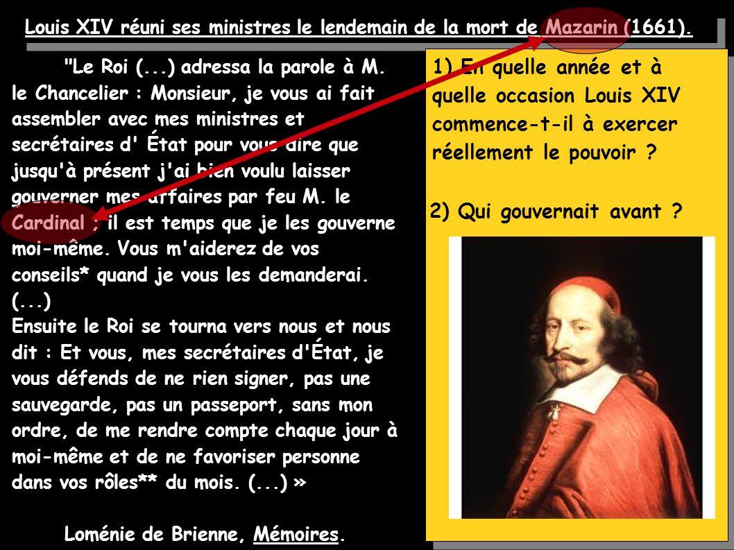 Une commission d intendant signée par Louis XIV en 1653.