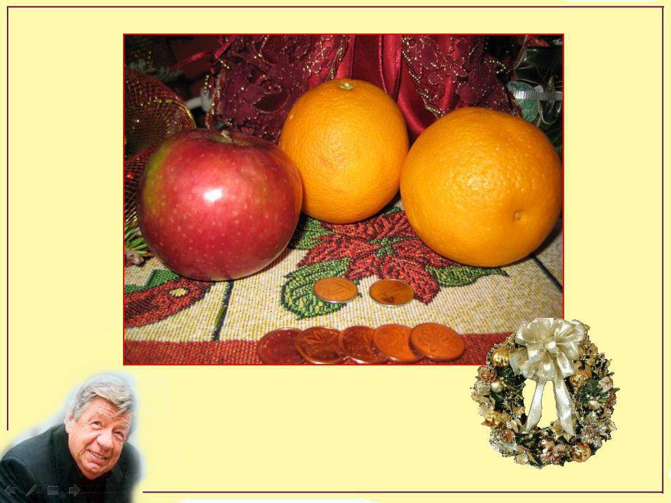 Pis en plus, une pomme, deux oranges, une pognée de klondykes deux dix cents puis 5 cents en cents ! Ça, c'est d'être heureux ! Merci mon Ti-Jésus Mer