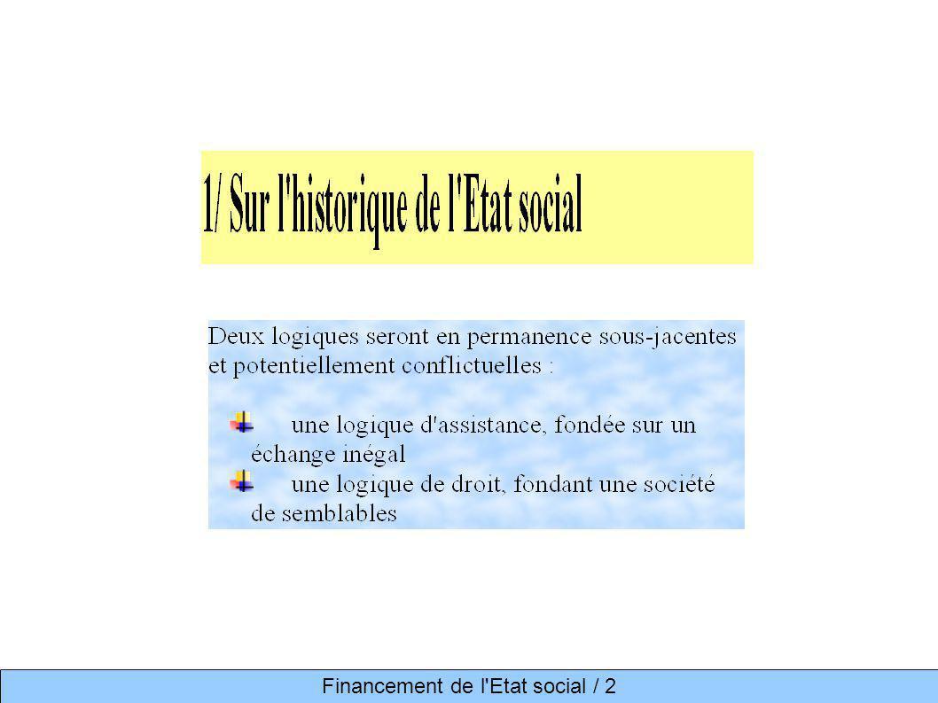 Financement de l'Etat social / 2