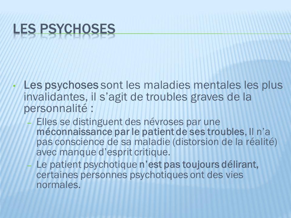 Lorigine des psychoses est multifactorielle : – Personnelle, sociale, génétique, biologique et psychologique.