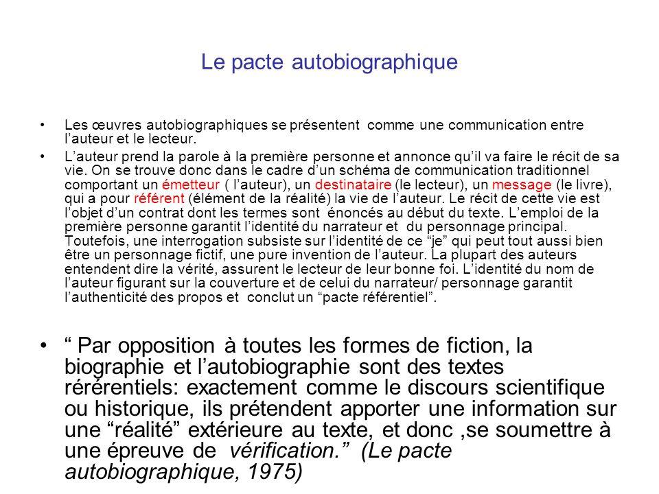 Q: Quelle influence la psychanalise a-t-elle eu sur lautobiographie.