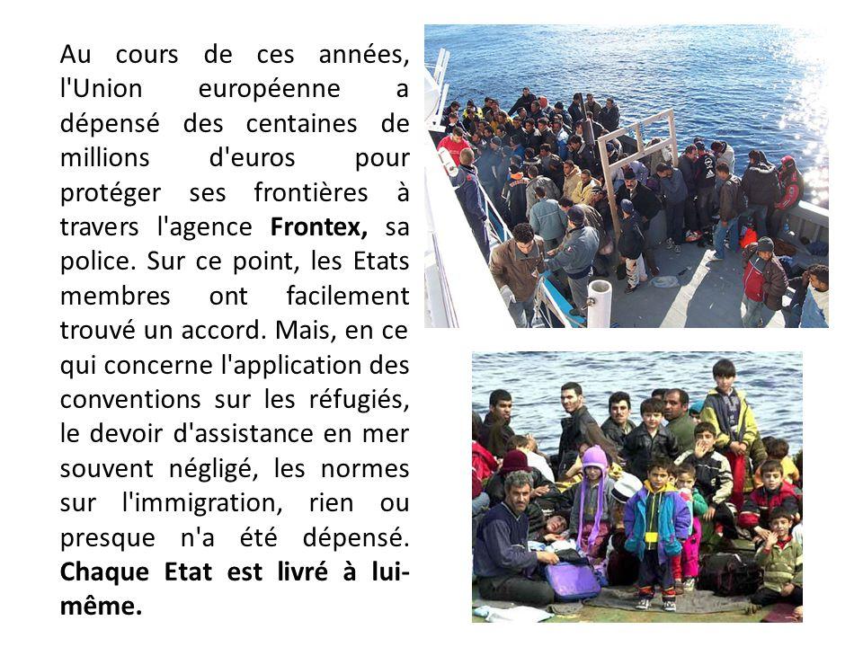 Lampedusa est le premier lieu, réel et symbolique, entre nous, spectateurs, et ces hommes, femmes et enfants qui s accrochent aux rochers pour nous demander de l aide.