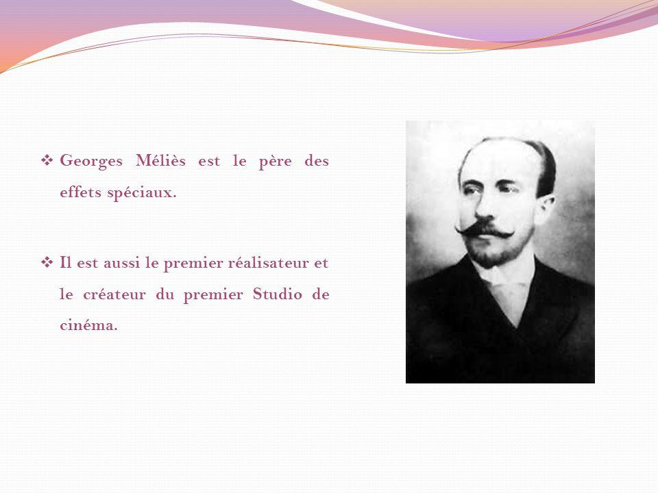 Georges Méliès a fait le premier film de science-fiction, Voyage dans la Lune en 1902.