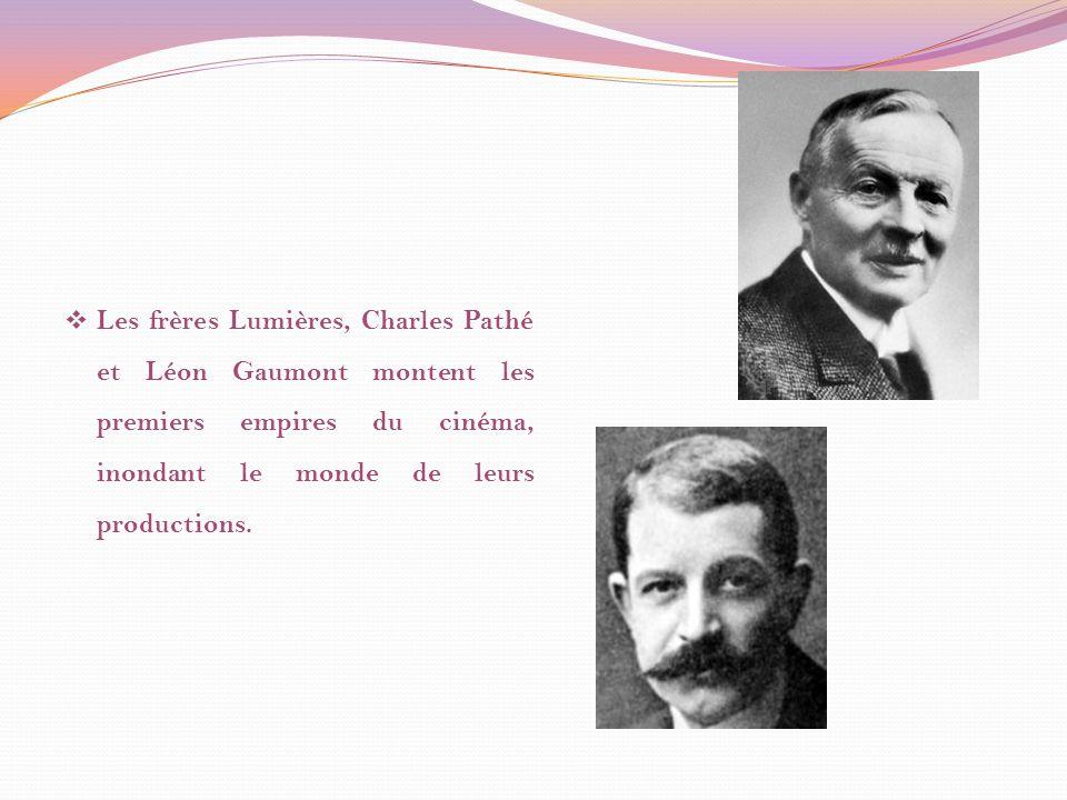 Charles Pathé, en 1896, a fondé la société Pathé Frères.