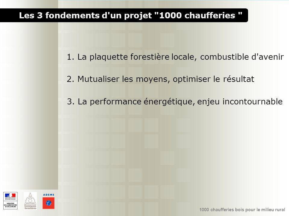 1000 chaufferies bois pour le milieu rural Les 3 fondements d'un projet